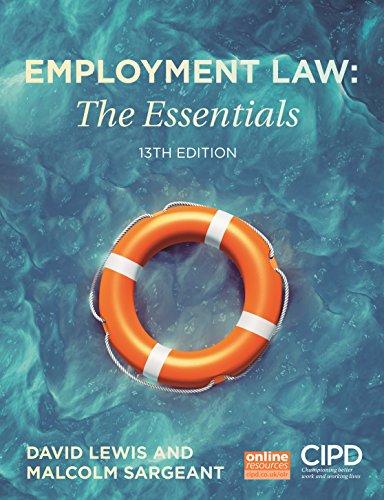 9781843983743: Employment Law: The Essentials