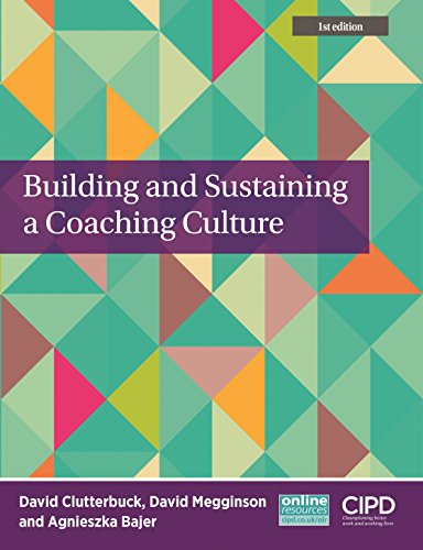 9781843983767: Building and Sustaining a Coaching Culture (Cipd)