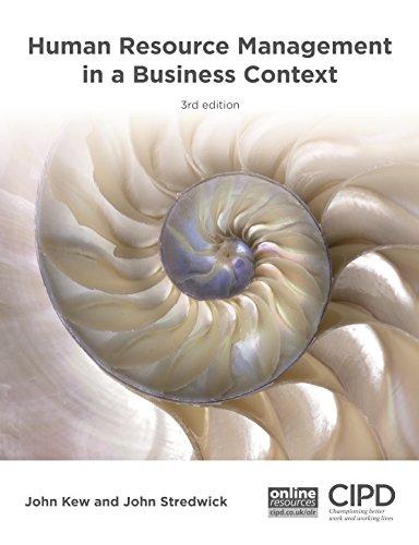 Human Resource Management in a Business Context: John Kew, John