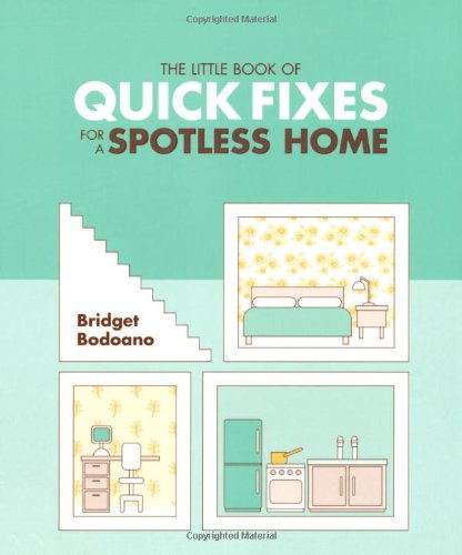 The Little Book of Quick Fixes for a Spotless Home (Little Book of): Bodoano, Bridget