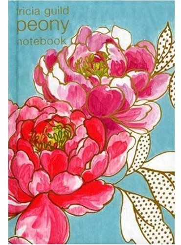 9781844005512: Tricia Guild Peony Notebook (Tricia Guild Flower Collection)