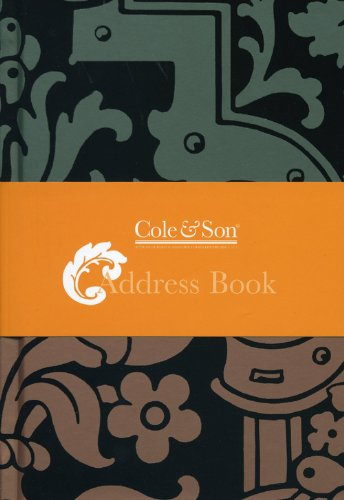 9781844006830: Cole & Son Classix--Address Book (Cole & Son Stationery) (Cole & Son Classix (Quadrille))