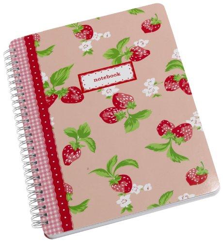 9781844007493: Cath Kidston Strawberry Notebook