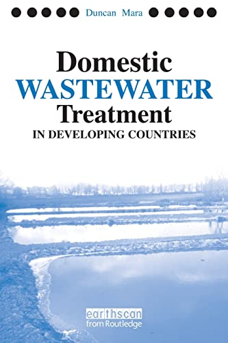 9781844070190: Domestic Wastewater Treatment in Developing Countries