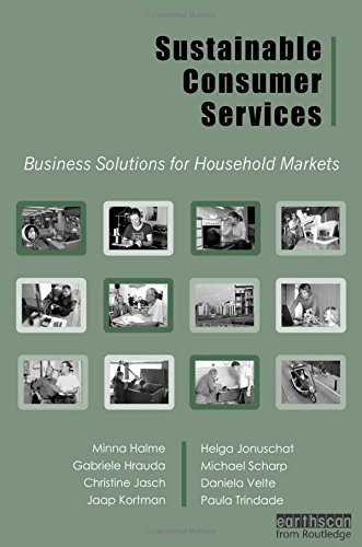 9781844072095: Sustainable Consumer Services: Business Solutions for Household Markets