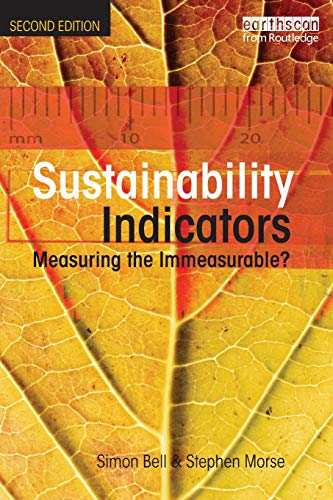 9781844072996: Sustainability Indicators: Measuring the Immeasurable?