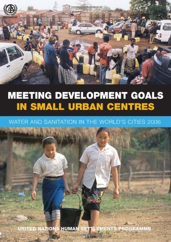 9781844073047: Meeting Development Goals in Small Urban Centres: Water and Sanitation in the Worlds Cities 2006