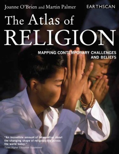 9781844073085: Atlas Set: The Atlas of Religion: Mapping Contemporary Challenges and Beliefs (The Earthscan Atlas Series) (Volume 9)