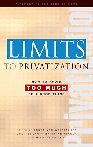 9781844073399: Limits to Privatization