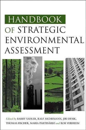 9781844073658: Handbook of Strategic Environmental Assessment