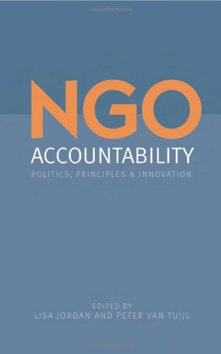 9781844073689: NGO Accountability: Politics, Principles and Innovations