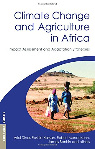 9781844075478: Climate Change and Agriculture in Africa: Impact Assessment and Adaptation Strategies (Earthscan Climate)