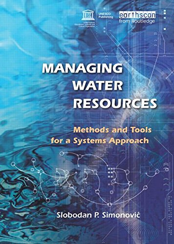 9781844075546: Managing Water Resources: Methods and Tools for a Systems Approach