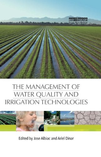 9781844076703: The Management of Water Quality and Irrigation Technologies