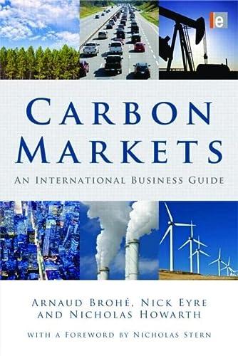 9781844077274: Carbon Markets: An International Business Guide (Environmental Market Insights)