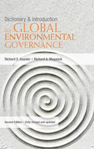 9781844077502: Dictionary and Introduction to Global Environmental Governance