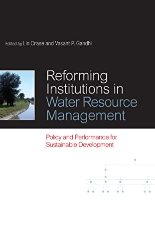 9781844077557: Reforming Institutions in Water Resource Management: Policy and Performance for Sustainable Development