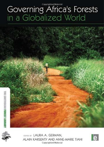 9781844077564: Governing Africa's Forests in a Globalized World (The Earthscan Forest Library)