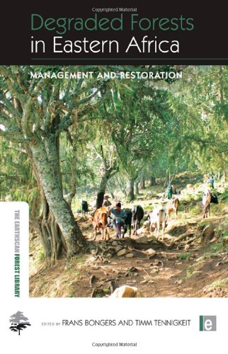 9781844077670: Degraded Forests in Eastern Africa: Management and Restoration (The Earthscan Forest Library)