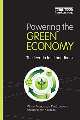 9781844078585: Powering the Green Economy: The Feed-in Tariff Handbook