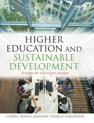 Higher Education and Sustainable Development: A model for curriculum renewal: Cheryl Desha