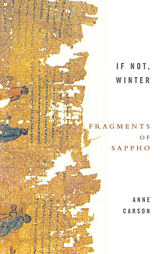 9781844080816: If Not, Winter: Fragments Of Sappho