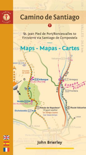 9781844095292: Camino De Santiago: St. Jean Pied De Port/Roncesvalles - Finisterre Via Santiago De Compostela (Camino Guides)