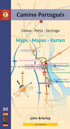9781844095773: Camino portugués mapas, maps, karten. English, Español, Deustch, Portugues. Camino Guides.