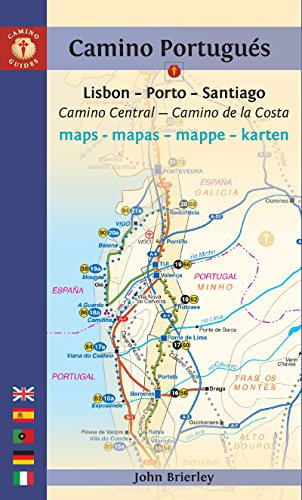 9781844097159: Mapa-Guía Camino portugués (Lisboa-Oporto-Santiago). Findhorn. (Camino Guides)