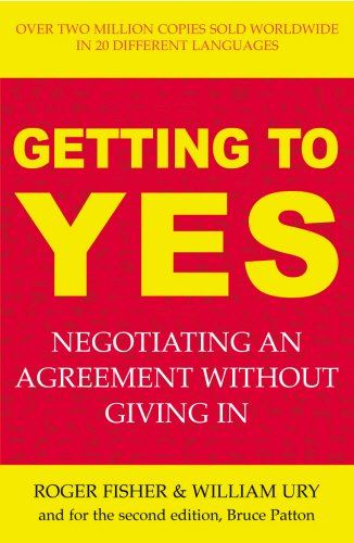 9781844131464: Getting to Yes: The Secret to Successful Negotiation
