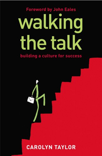 9781844138074: Walking the Talk: Building a Culture for Success