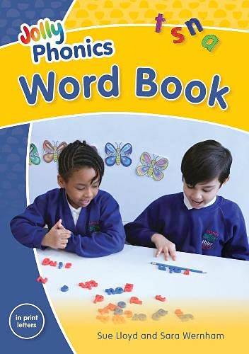9781844140282: Jolly Phonics Word Book in Print Letters