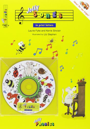 9781844140794: Jolly Songs: Book & CD in Print Letters (American English Edition) (Jolly Phonics)