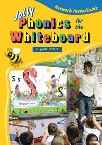 9781844140879: Jolly Phonics for the Whiteboard (in Print Letters)