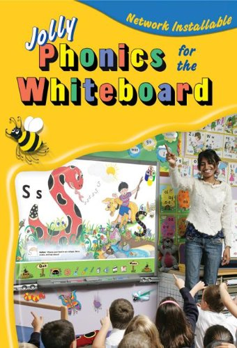 9781844140961: Jolly Phonics for the Whiteboard (in Precursive Letters)