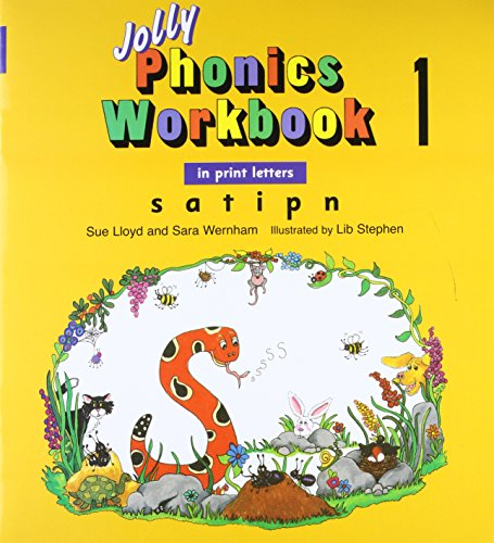 9781844140985: Jolly Phonics Workbook 1: In Print Letters: S, A, T, I, P, N
