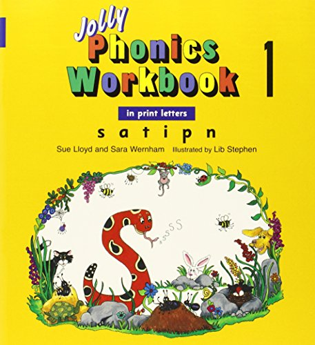 9781844141050: Jolly Phonics Workbooks 1-7 In Print Letters