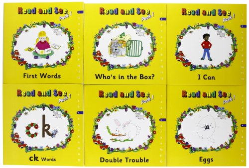 9781844141289: Jolly Phonics Read and See Pack 1 (in Print Letters)