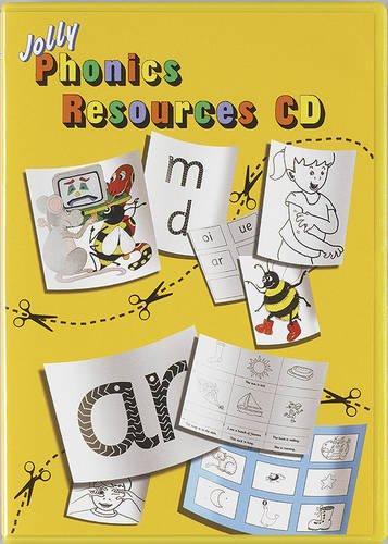 9781844141425: Jolly Phonics Resources CD: Print/Precursive choice