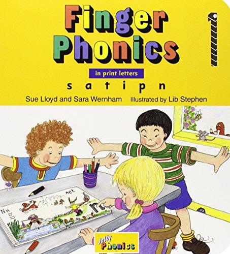 Finger Phonics, Books 1-7: In Print Letters: Sue Lloyd, Sara Wernham, Christopher Jolly