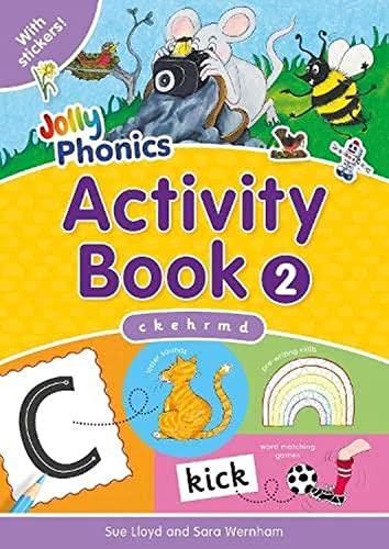 Jolly Phonics Activity Book 2c K, E,: Sue Lloyd