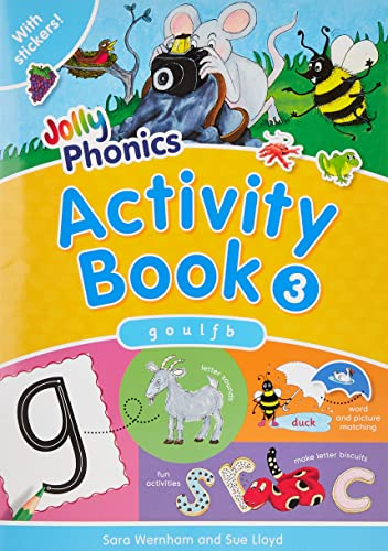 9781844141555: Jolly Phonics Activity Book 3