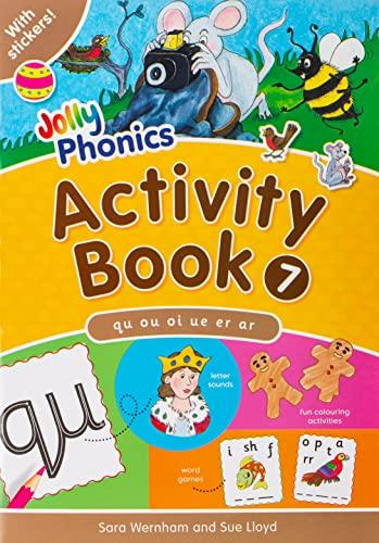 9781844141593: Jolly Phonics Activity Book 7qu, Ou, Oi, Ue, Er, AR