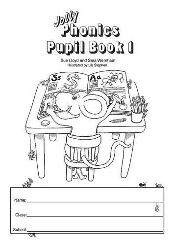 9781844141623: Jolly Phonics Pupilbook 1
