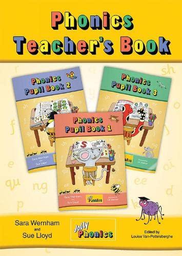 9781844141661: Jolly Phonics Teacher's Bookbook 1