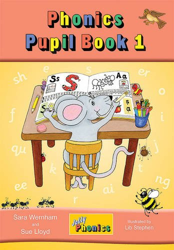 9781844141678: JOLLY PHONICS PUPILS BOOK 1 COLOR (Jolly Learning)