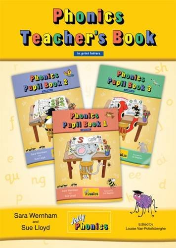 9781844141760: Jolly phonics. Teacher's book. In print letters. Per la Scuola elementare
