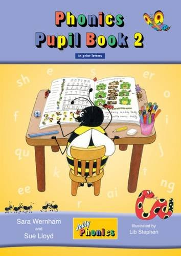 9781844141784: Jolly Phonics Pupil Book 2 in Print Letters