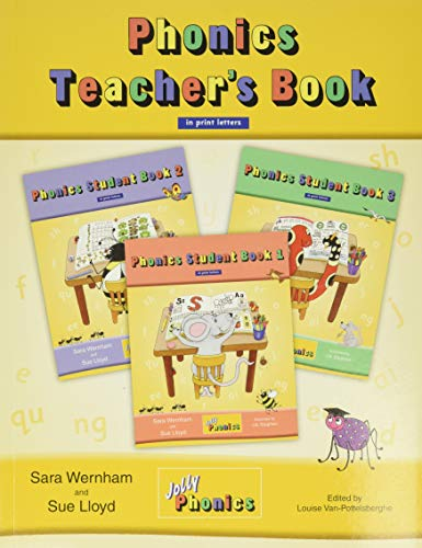 9781844141807: Jolly Phonics Teacher's Book in Print Letters