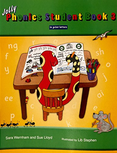 Jolly Phonics Student Book 3 (Colour in Print Letters): Wernham, Sara